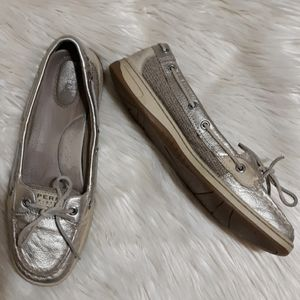 SPERRY TOP SLIDER Boat Flat Loafers Shoes 9.5M